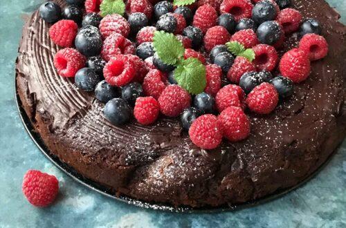 Glutenfri Chokoladekage