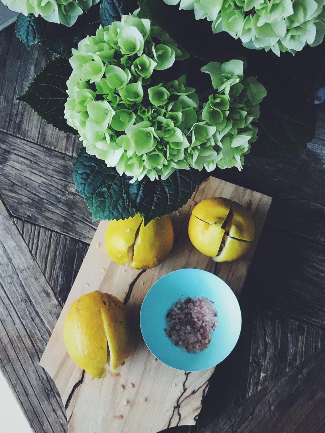 Saltsyltede citroner